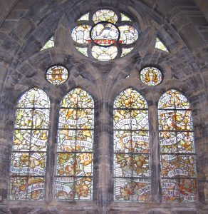 Large refectory window